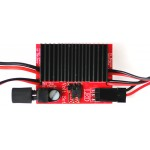 Ignition Cutoff Regulated Fiber-optic Receiver for Dual-Ignition Engines w/LED