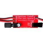 Ignition Cutoff Unregulated Fiber-optic Receiver w/LED